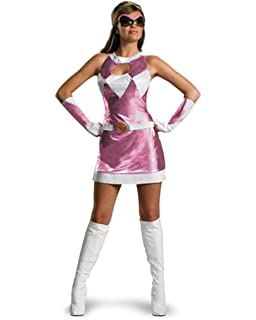 Sabans Mighty Morphin Power Rangers Pink Ranger Bustier Costume Small 4-6