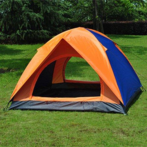 遠洋の生じる杭TY&WJ キャンプテント 二重層 ドームテント ポータブル テント アウトドア スポーツの ハイキング 登山 二重扉 4 シーズン 2 人