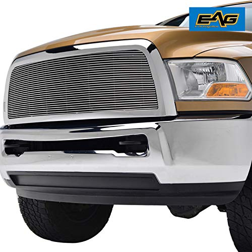 EAG Chrome Billet Grille+Shell for 10-12 Dodge Ram 2500/3500