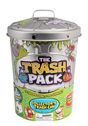 Trash Pack Collectors Trash Can by Trash Pack