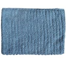 glo Organic Stripe (Faded Denim)-Hand Towel