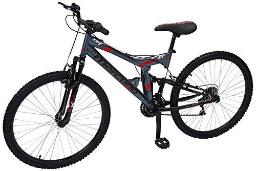 Mercurio Bicicleta ZTX R26 Doble Suspensión, para Homb