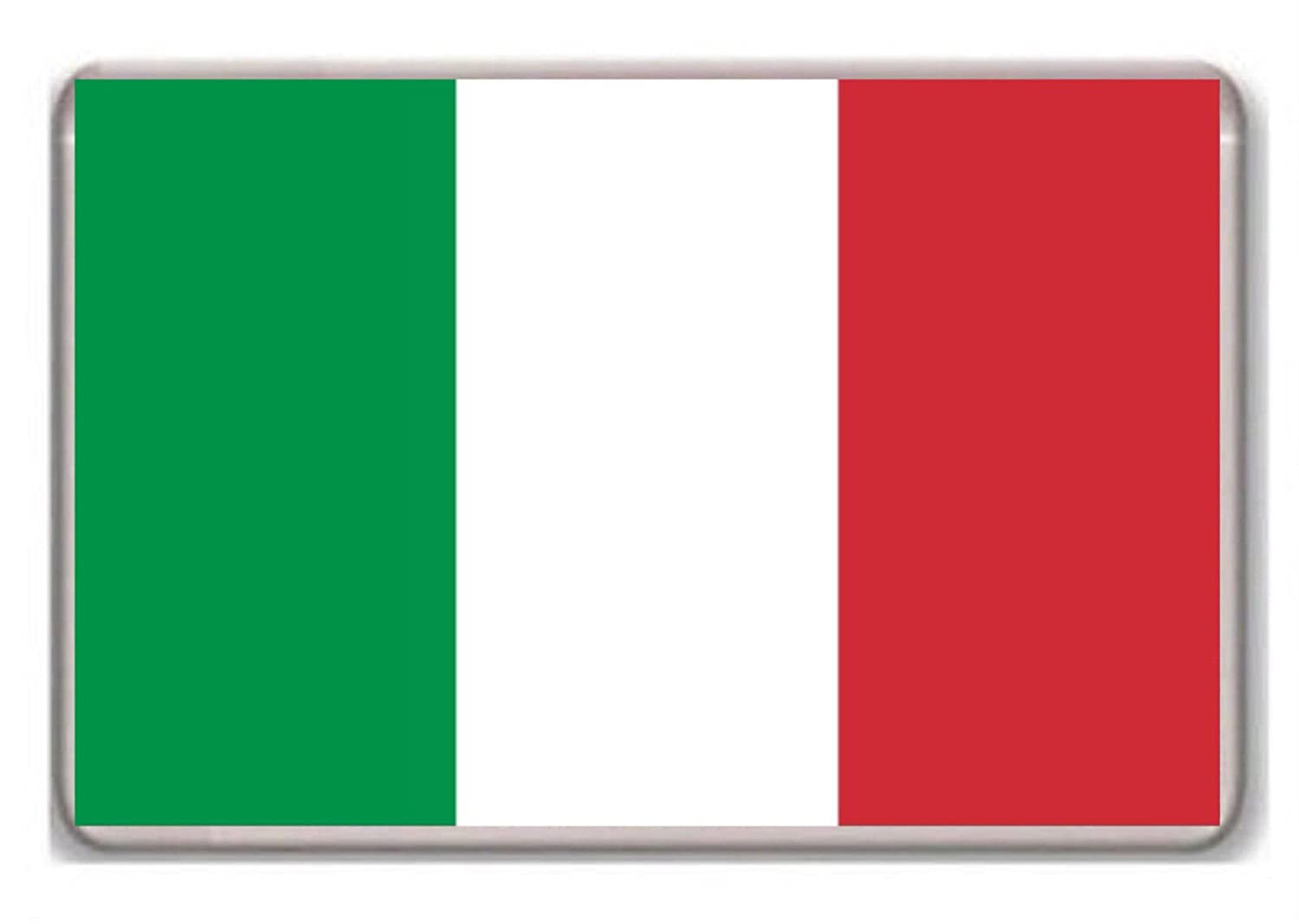 Flag of Italy fridge magnet Photosiotas