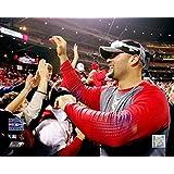 Albert Pujols - Celebrates With Fans After Winning 2006 World Series Photo Print (16 x 20)