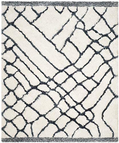 Safavieh Toronto Shag Collection SGT722K Handmade 1.25-inch Thick Area Rug