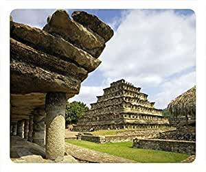 Nature Personalized Design Rectangular Mouse Pad Ancient Sites by runtopwell