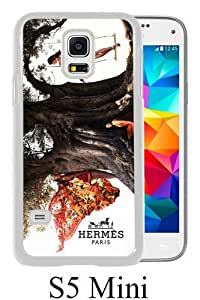 New Fashionable And Durable Designed Case For Samsung Galaxy S5 Mini With Hermes 3 White Phone Case