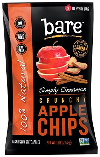 All Natural Cinnamon Apple Chips, 1.69 oz, 10 pk Review
