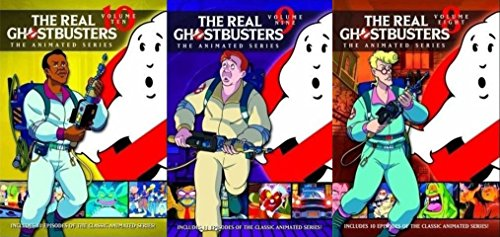 American Classic: The Real Ghostbusters (the animated series) Vol 8/ Vol 9/ Vol 10 (3 Pack DVD Bundle)