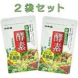 【 2袋セット 】 日本盛 植物生まれの酵素 乳酸菌プラス 62粒