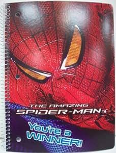 Spider Man Spiral Notebook