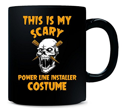 This Is My Scary Power Line Installer Costume Halloween - Mug