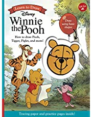 Learn to Draw Disney Winnie the Pooh: How to draw Pooh, Tigger, Piglet, and more!