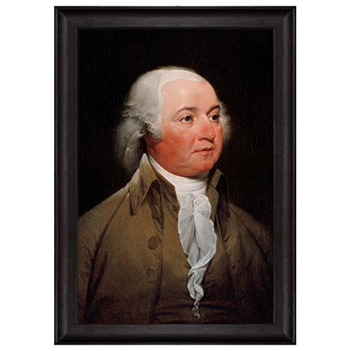 Portrait of John Adams by John Trumbull (2nd President of the United States) American Presidents Series Framed Art Print