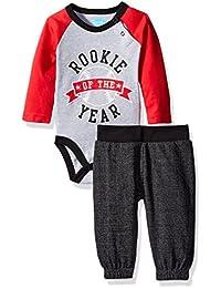 Baby Boys' 2 Piece Bodysuit Set With Sweatpant