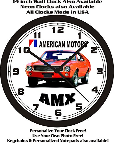 AMX WALL CLOCK-FREE USA SHIP! ()