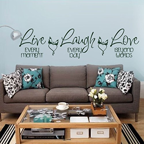 Laugh Inspirational Stickers Graphic Decoration product image