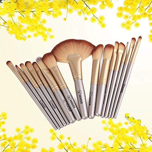 Makeup brushes Set With Case Bag-32 Piece By Vander