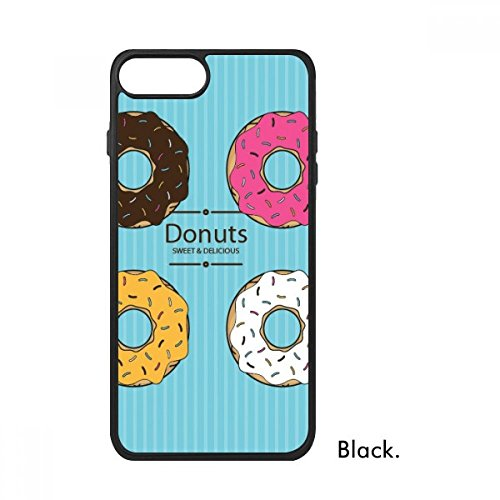 - Four Color Doughnut Dessert Sweet Food for iPhone 7 Plus Cases Phonecase Apple Cover Case Gift