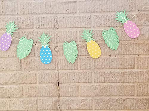 Tropical Luau Party Pineapple and Palms