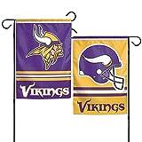 NFL Minnesota Vikings WCR08373013 Garden Flag, 11'' x 15''