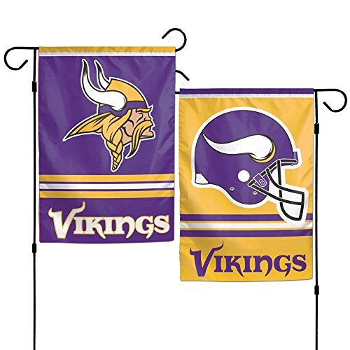 Party Animal Sports Team Logo Minnesota Vikings Garden/Window Flag ()