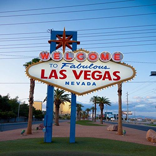 ofilaラスベガスBackdrop 5 x 5ft Cityシンボルカジノテーマダンスパーティーブライダルシャワー写真VegasテーマパーティーYoung 21st Birthday Celebration背景婚約パーティー卒業式パーティー撮影小道具   B07CCJ38KH