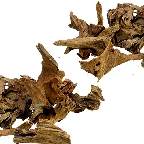 Dr. Moss Aquarium Small Malaysian Driftwood Luxurious Set for Fish Tank Decor, Real Wood Bogwood (2 pieces) by Dr. Moss