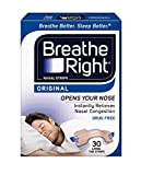 Breathe Right Original Large Tan Nasal Strips, 30