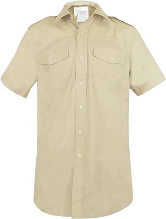 Cooneen Defence Camisa militar de manga corta para hombre