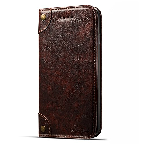 Leather Wallet Phone Case Protective Flip Cover