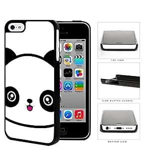 Cute Panda Face Anime Hard Plastic Snap On Cell Phone Case Apple iPhone 5c