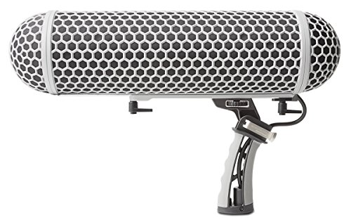 Marantz Professional ZP-1 | Blimp-Style Microphone Windscreen and Shockmount with Synthetic Fur Slip-On Cover