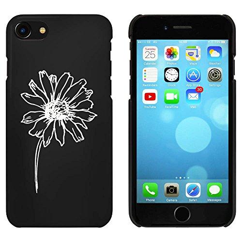 Noir 'Jolie Fleur' étui / housse pour iPhone 7 (MC00073965)