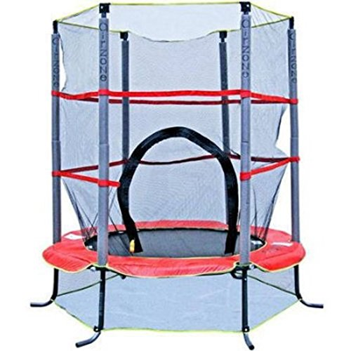 Trampoline with Safety Enclosure for Outdoor Toys of Kids by Airzone55