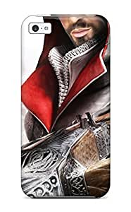 For SamSung Galaxy S4 Mini Case Cover Hard Back With Bumper Silicone Gel Hard shell Assassin's Creed Brotherhood Game