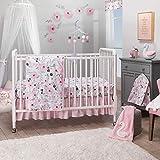Bedtime Originals Blossom Pink/Gray Watercolor