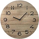 Orologio Shabby Chic di Legno di Fiume da Parete 35cm