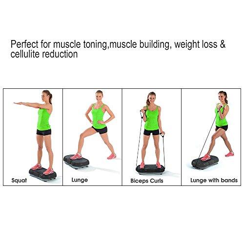 Seeutek Crazy Fit Vibration Plate Whole Body Vibration Plateform Massage Machine
