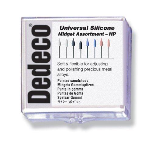 Dedeco 7854 Universal Silicone Midget Assortment (Pack of 24)