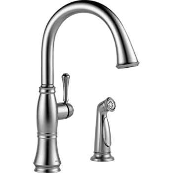 Delta Faucet 4297-RB-DST Cassidy Single Handle Kitchen