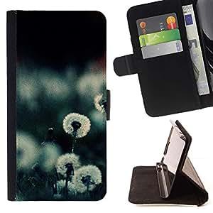 For HTC DESIRE 816 Case , Planta Naturaleza Forrest Flor 20- la tarjeta de Crédito Slots PU Funda de cuero Monedero caso cubierta de piel