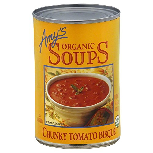 Amy's Organic Chunky Tomato Bisque 14.5 OZ (Pack of - Bisque Chunky Organic Tomato