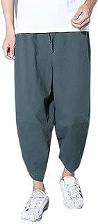 Pantaloni, OHQ Moda Sportivo Calze E Collant Gonne Jeans Leggings Maglieria Tutine Pantaloni Tailleur Giacche Allentati dei alla Moda della Caviglia di Tela del Cotone Tasca