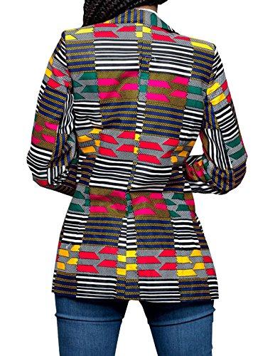 Jaune Culturel Caftan Dcontracte GLADTHINK Dashiki Costume Femmes Africain Porter xaqff4nO8W