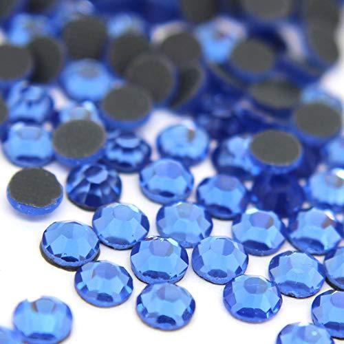 Zbella Crystal Hot Fix Rhinestones 10 Gross (1440 Stones/pkg) Hotfix Rhinestones (ss16, Lt -