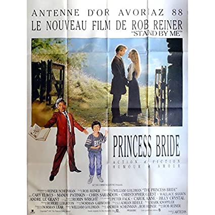 Mauvais Genres THE PRINCESS BRIDE Movie Poster 47x63 in