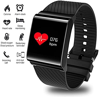 LIGE Fitness Trackers HR,Impermeable Pantalla de Color Rastreador ...