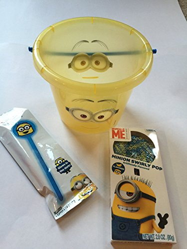 Despicable Me 2 Minion Halloween Candy Bucket w/light Up ...