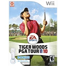 Tiger Woods PGA Tour 10 Wii Motion Plus Bundle - Wii